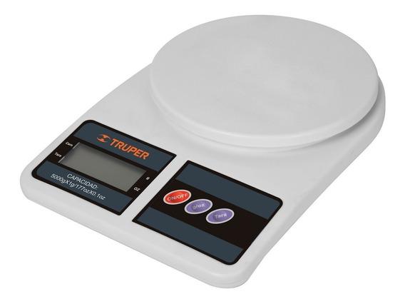 Bascula Digital Para Cocina, 5kg Truper 15161