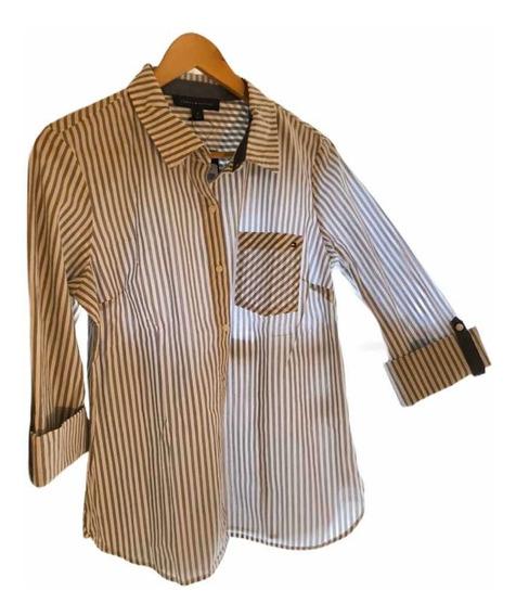 Camisa Tommy H. Para Mujer Talla M