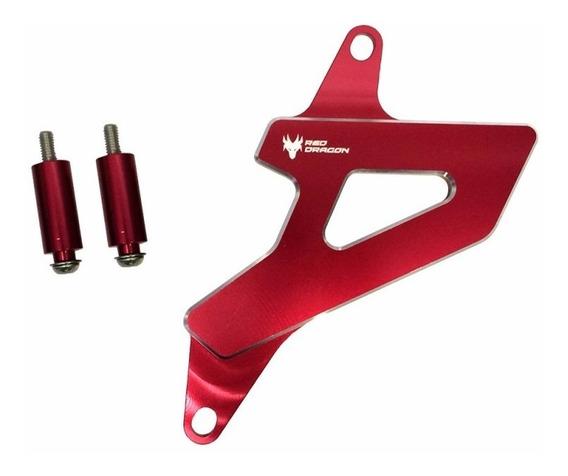 Protetor Pinhão Honda (crf230) Vermelho Red Dragon