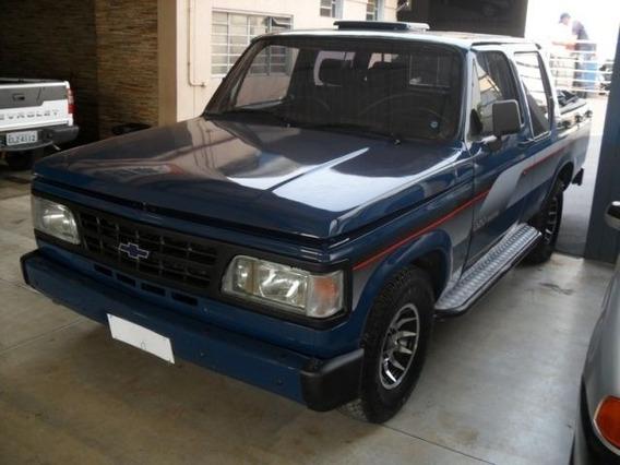 Chevrolet D20 4.0 Custom S Cd Azul Diesel 2p Manual 1989