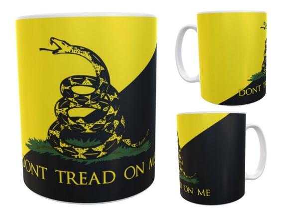 Libertarios Movimiento Taza Ceramic Simbolo Dont Tread On Me