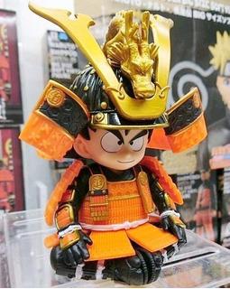 Banpresto - Dragon-ball - Goku Kid Samurai / Casco Shenlong