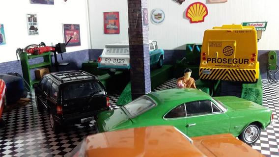 Diorama Luminária Em Led Escala 1/43 A 1/32 Chevrolet Brasil