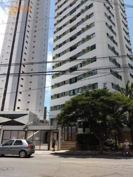 Apartamento Com 3 Dormitórios Para Alugar, 70 M² - Casa Amarela - Recife/pe - Ap3544