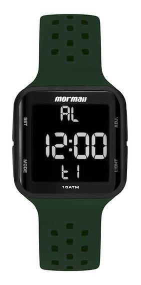 Relógio Mormaii Unissex Digital Mo6600ac/8v Verde Preto