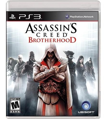 Assassins Creed Brotherhood Ps3 Midia Fisica