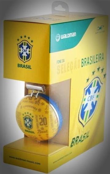 Fone De Ouvido Waldman Sg10 Cbf Seleção Brasileira Cbf