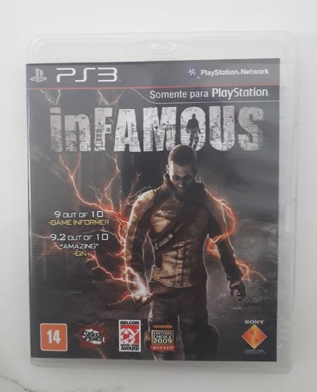 Jogo Infamous Ps3 Mídia Física - Original - Playstation 3