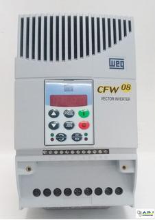 Inversor De Frequência Weg Cfw08 3cv 380v Pronta Entrega