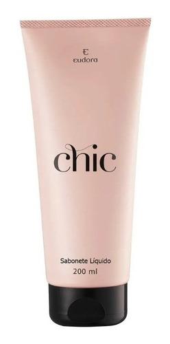 Sabonete Líquido Chic 200ml - Eudora
