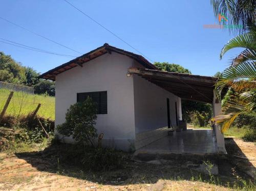 Chácara Com 1 Dormitório À Venda, 6815 M² Por R$ 180.000,00 - Jundiacanga - Araçoiaba Da Serra/sp - Ch0246