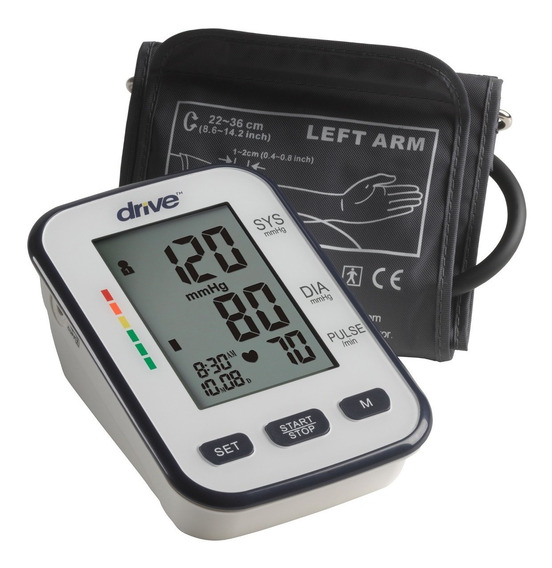 Baumanometro Automatico Digital Para Brazo Lujo Drive Medica