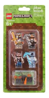 Lego Pack De Apariencias Minecraft 853610 Skin Pack 2