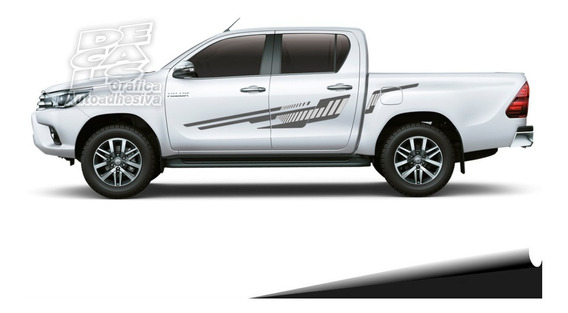 Calco Toyota Hilux 2016 - 2017 - 2018 - 2019 Juego