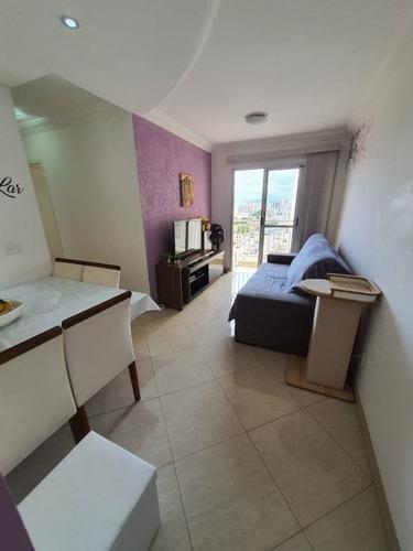 Imagem 1 de 21 de Apartamento Com 2 Dormitórios À Venda, 56 M² Por R$ 375.000,00 - Bonfim - Campinas/sp - Ap0684