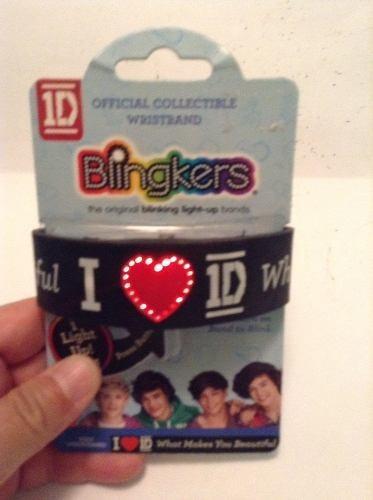 Pulsera De Silicon 1d One Direction Con Luz Envío Gratis