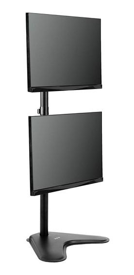 Suporte 2 Monitores Vertical Com Base De Mesa 15 A 34 V1224n