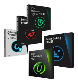 Kit 5 Programas De Computador Iobit - Pc Rapido E Seguro