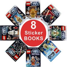 Lego Star Wars Sticker Book - Pack With 8 Books - Dk - Dorli