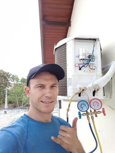 Imagem 1 de 4 de Instalação De Ar Condicionado Residencial.