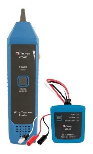 Zumbidor Minipa Mtc-183 Identificador De Cabo E Continuidade