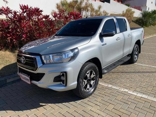 Imagem 1 de 9 de Toyota Hilux 2019 2.8 Sr Cab. Dupla 4x4 Tdi Aut. 4p
