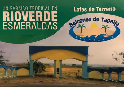 Terreno 240 Metros Río Verde - Esmeraldas