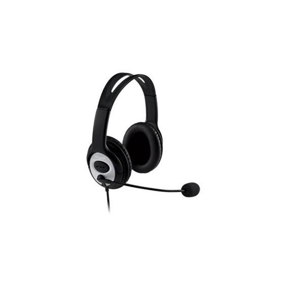 Fone De Ouvido (c/ Mic) - Usb - Microsoft Lifechat Lx-3000 - Preto/cinza - Jug-00013 / 1084