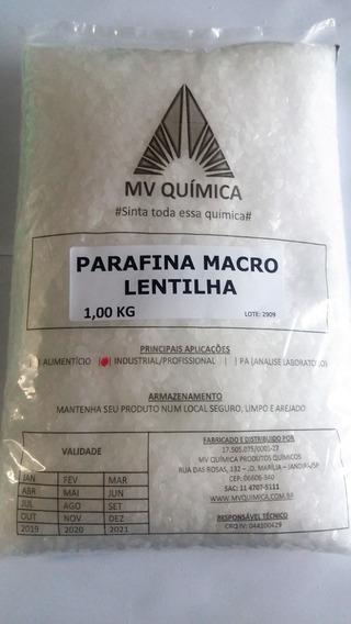 Parafina Lentilhada Macro 140/145 - 10und X 1kg = 10kg