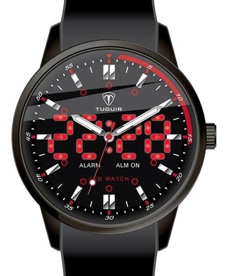 Relógio Tuguir Masculino Barato Garantia Nota 6025