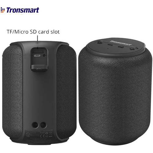 Tronsmart Parlante Bluetooth Portatil Acuatico Bass T6 Mini
