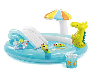 Alberca Inflable Gator Play Center Intex