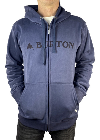 Buzo Con Cierre Burton Logo Horizontal Pullover Hoodie