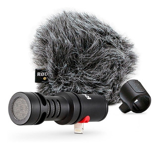 Micrófono Rode VideoMic Me-L cardioide negro