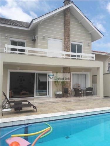 Casa À Venda, 400 M² Por R$ 2.400.000,00 - Residencial Onze (alphaville) - Santana De Parnaíba/sp - Ca0876