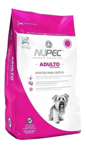 Imagen 1 de 1 de Alimento Nupec Super Premium Adulto Raza Pequeña 8 Kg.