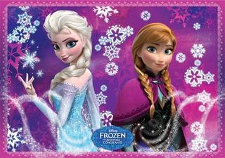 Painel Festa Aniversário Frozen C/nome - 2,0x1,10m