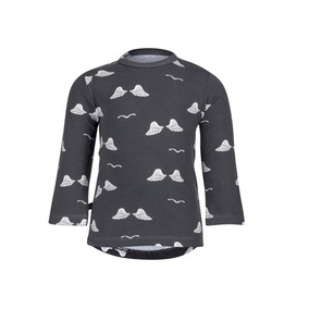 Camiseta De Manga Longa - Noeser - Wings - Cinza