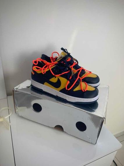 Tênis Nike Dunk Low Off White