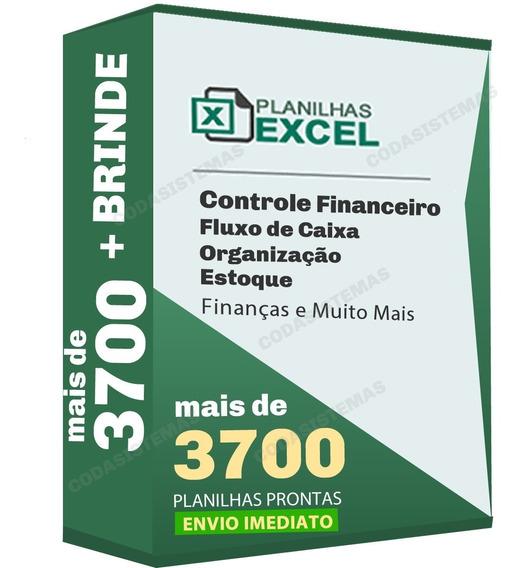 Planilhas Excel Editáveis E Profissionais + Brinde Gratis
