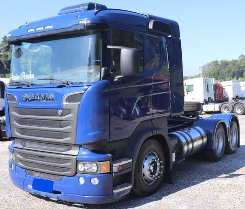 Scania R440 6x2 Ano 2014 Com Retarder