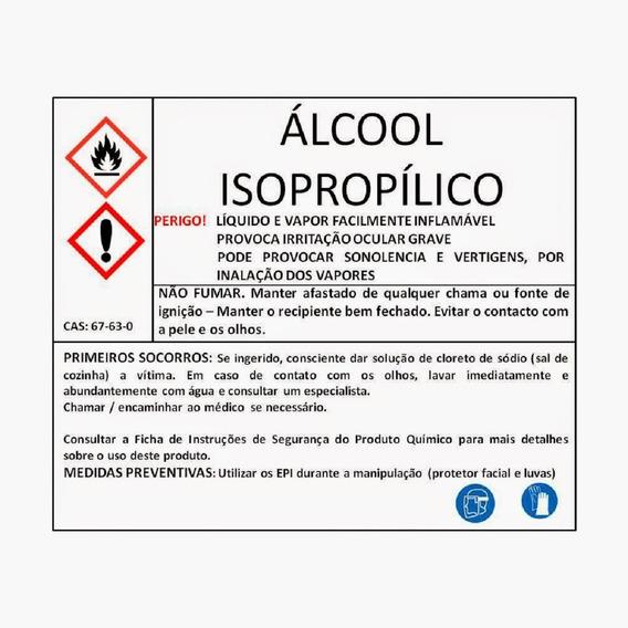Álcool Isopropílico (isopropanol) 5lt