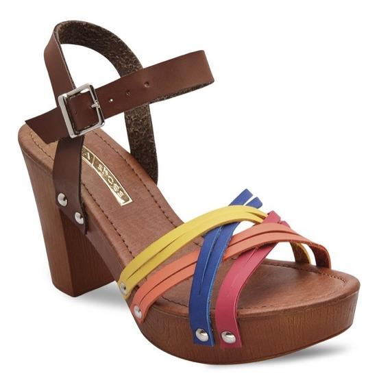 Plataforma Dama Mega Shoes Bs3236