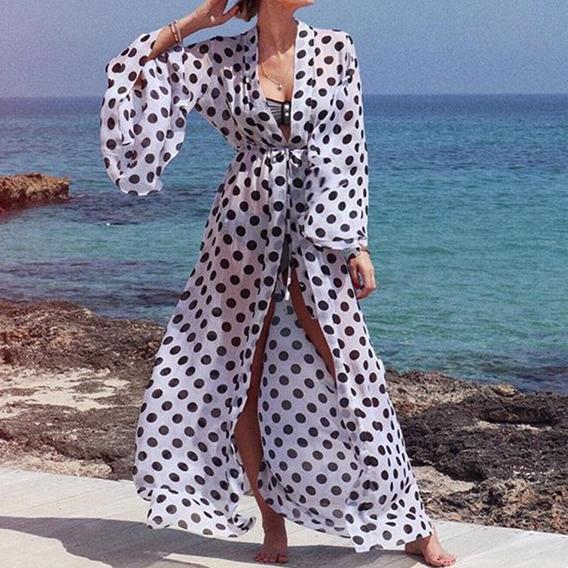 Bikini Para Mujer, Ropa De Playa, Vestido De Lunares, Playa,