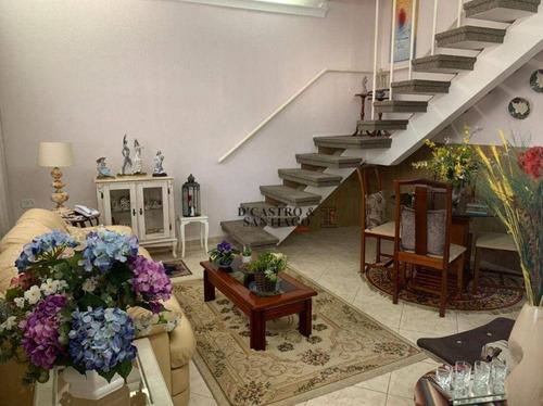 Sobrado Com 2 Dormitórios À Venda, 138 M² Por R$ 476.000 - Mooca - São Paulo/sp - So0345