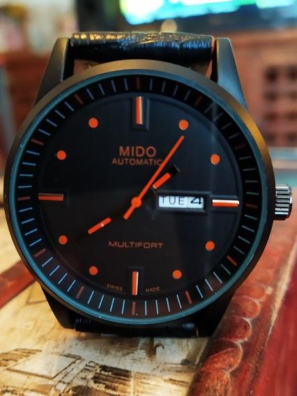 Reloj Nuevo Comander Multifort Cuarzo Fechador