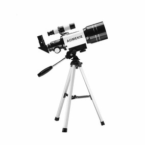 Telescópio Profissional Astronômico Aomekie C/luneta E Tripé