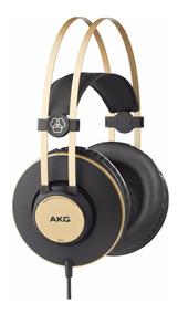Fone De Ouvido K92 Headphone Akg K 92 Perception Pro Dourado