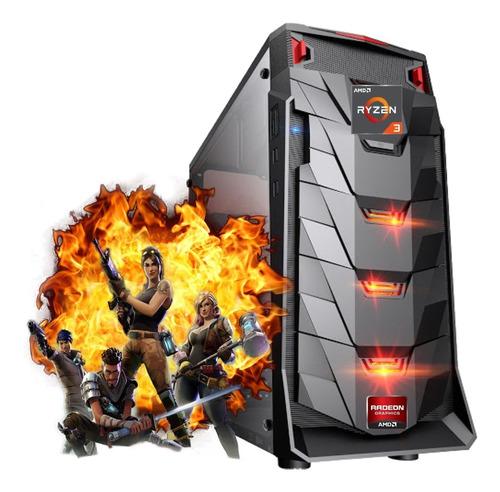 Computador Pc Gamer Ryzen 3 2200 Ssd 240gb 8gb Radeon Vega 8