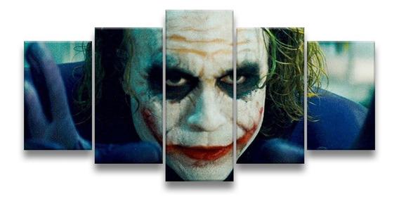 Quadro Decorativo 129x63 Sala Quarto Ledger Coringa Joker